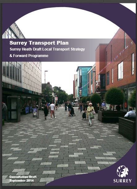 Surrey transport plan