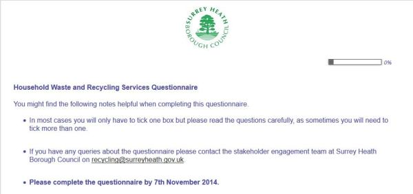 Waste survey