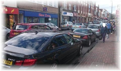 Camberley Short term car park. aka The High Street