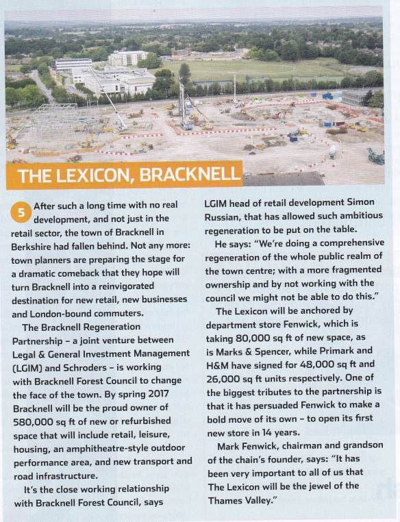 Bracknell development