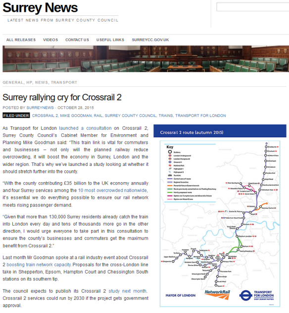 SCC and Crossrail 2