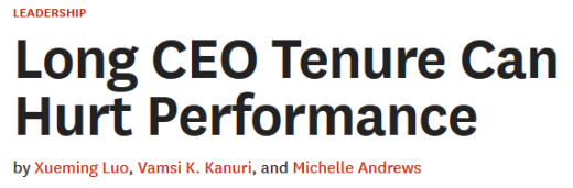 CEO performance