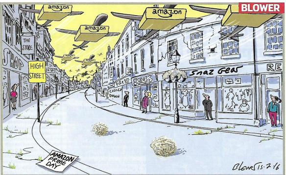 Retail Week cartoon